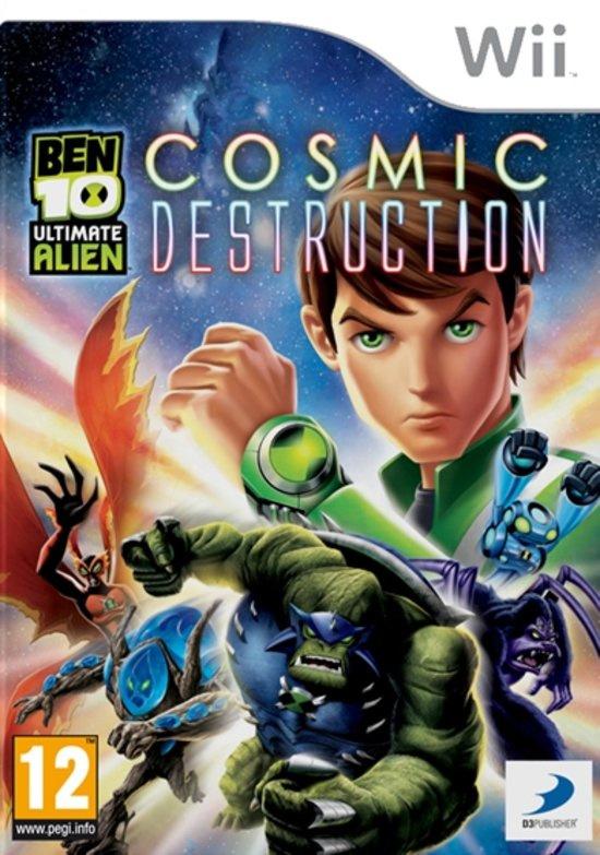 Ben 10 Ultimate Alien Cosmic Destruction (wii used game)
