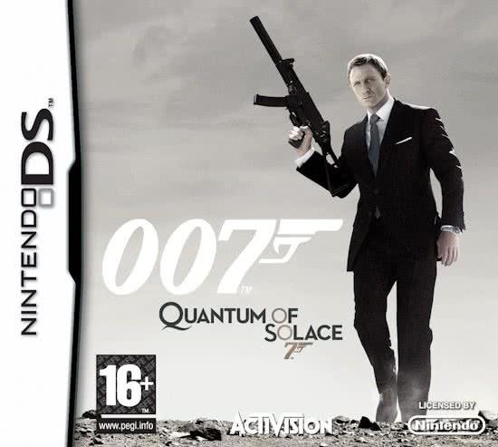 007 Quantum of Solace James Bond (Ds nieuw)
