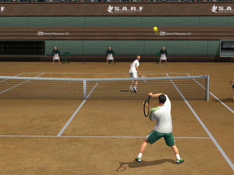Smash Court Tennis Pro Tournament 2  (ps2 used game)