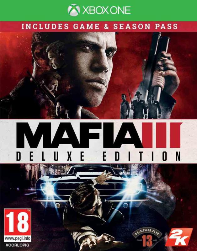 Mafia III  Deluxe (xbox One nieuw)