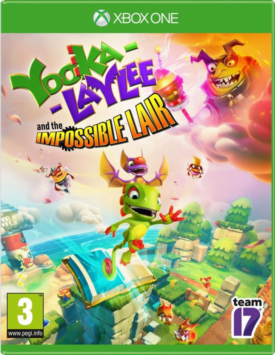 Yooka Laylee and the impossible lair (xbox one nieuw)