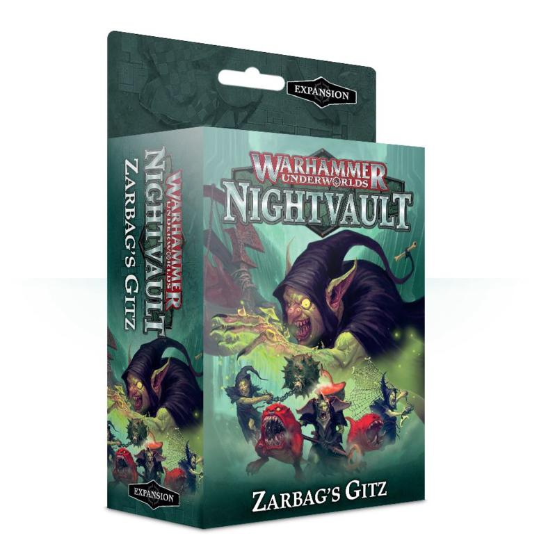 Warhammer Underworlds Nightvault Zargbag's Gitz (Warhammer nieuw)