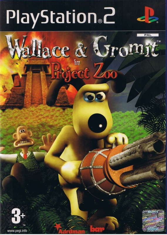 Wallace and Gromit in Project Zoo (ps2 nieuw)