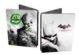 Batman Arkham city steelbook (xbox  360 tweedehands game)