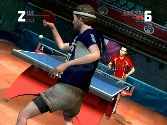 Rockstar Games Presents Table Tennis (Wii tweedehands games)