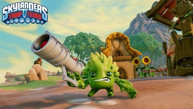 Skylanders Trap Team game only (Nintendo Wii  tweedehands game)
