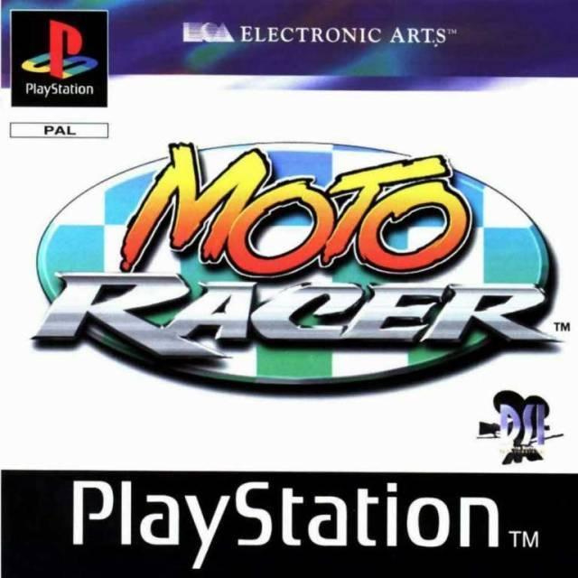 Moto Racer  (PS1 tweedehands game)