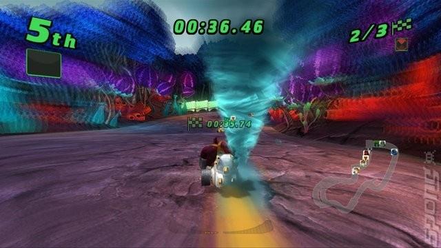 Ben 10 Galactic Racing zonder boekje (Wii tweedehands game)