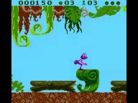 Disney's A bug's Life losse casette (Gameboy Color tweedehands game)