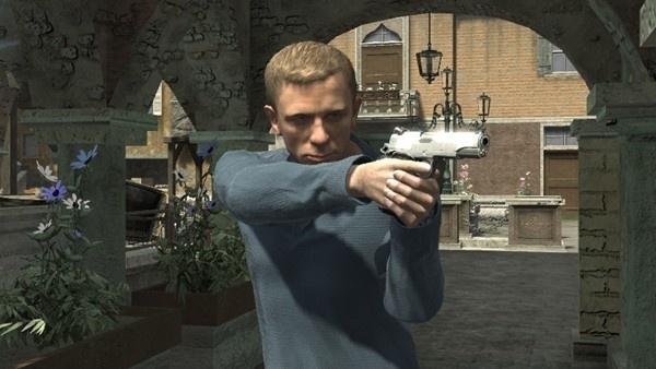007 Quantum of Solace James Bond zonder boekje (Xbox 360 used game)