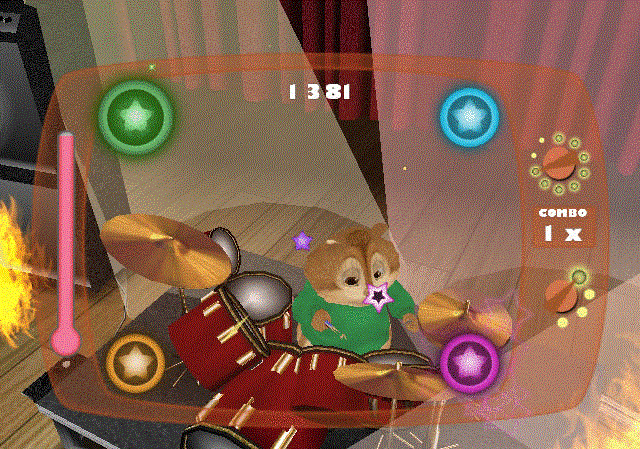 Alvin and the Chipmunks (Nintendo Wii tweedehands game)