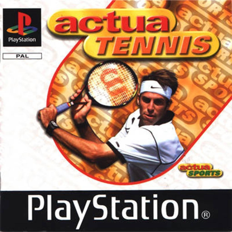 Actua Tennis (ps1 tweedehands game)