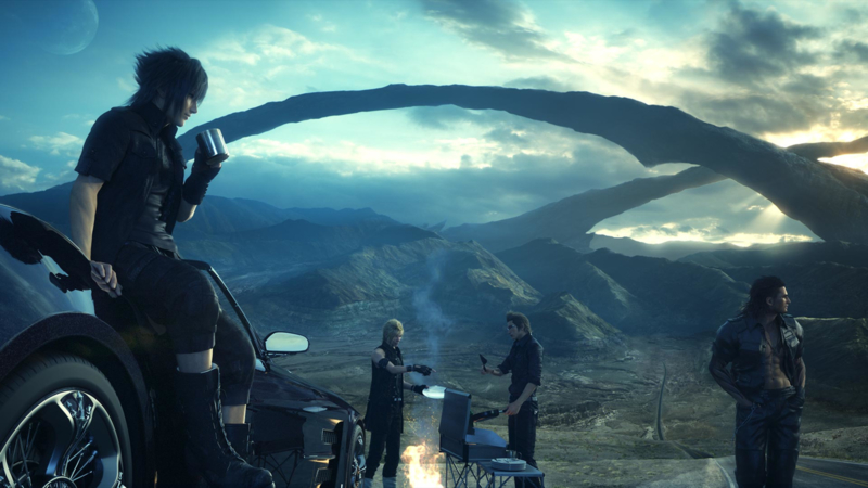 Final Fantasy XV (ps4 tweedehands game)