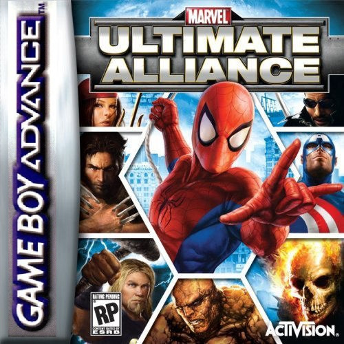 Marvel Ultimate Alliance (Gameboy Advance tweedehands game)