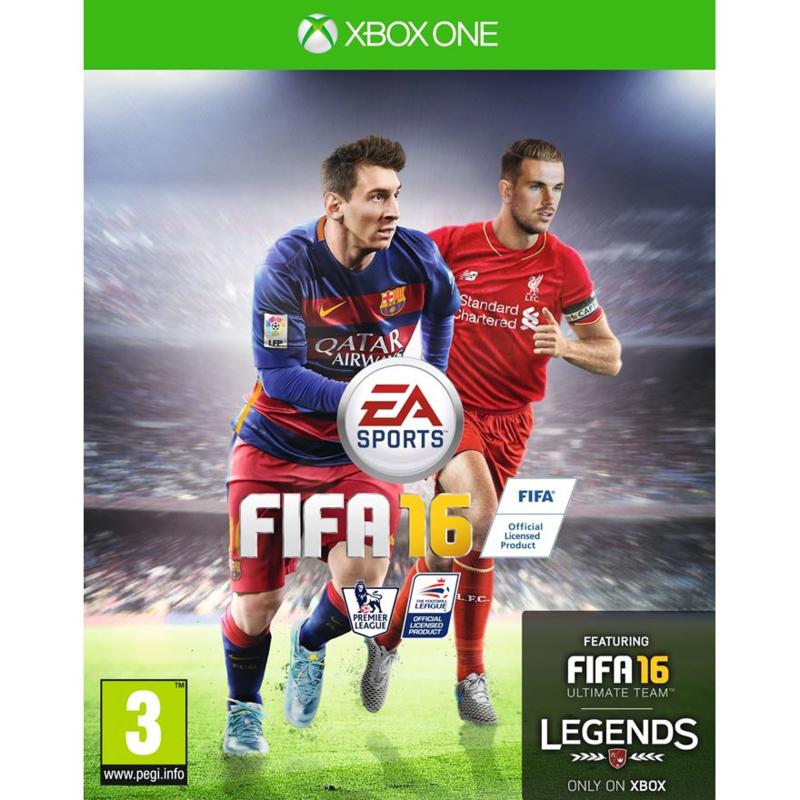 Fifa 16 (xbox one tweedehands game)