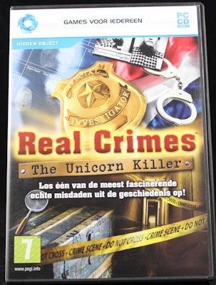 Real Crimes The Unicorn Killer (PC nieuw)