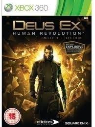 Deus Ex Human Revolution (xbox 360 used game)