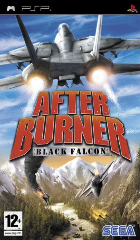After Burner Black Falcon (PSP tweedehands game)
