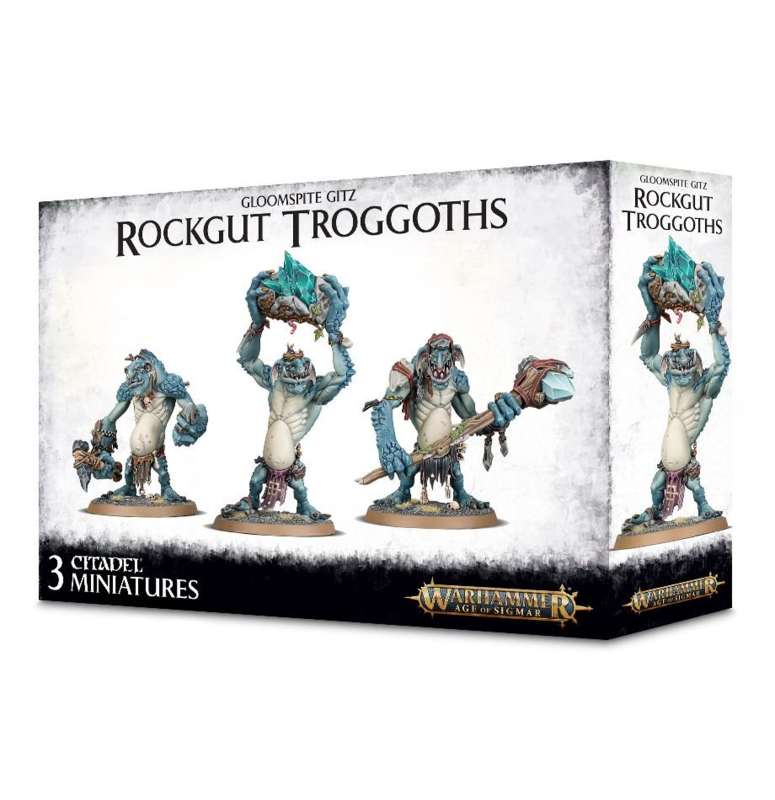 Gloomspite Gitz Rockgut Troggoths (Warhammer Age of Sigmar nieuw)