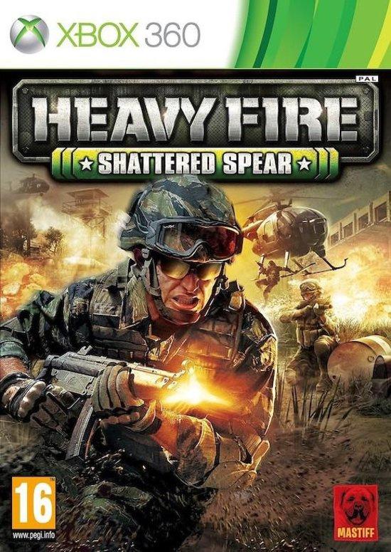 Heavy Fire Shattered Spead (xbox 360 nieuw)