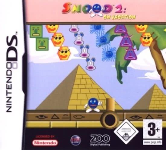 Snood 2 on vacation (Nintendo DS tweedehands game)