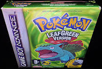 Pokemon Leaf Green Version  (Gameboy Advance tweedehands game)