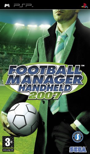Football Manager Handheld 2007 (psp used game)