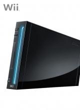 Losse Kale Zwarte Nintendo Wii Console geen klepje (Used)