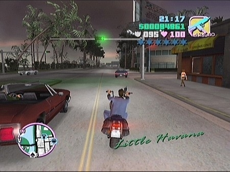 Grand Theft Auto Vice City (ps2 used game)