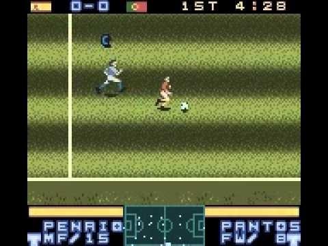 International Superstar Soccer 2000 losse cassette (Gameboy Color tweedehands game)