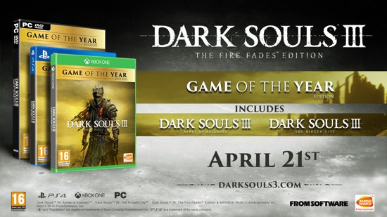 Dark Souls III Game of the year Edition (xbox one nieuw)