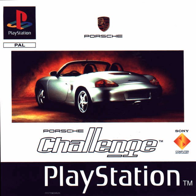 Porsche Challenge (PS1 tweedehands game)