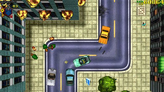 Grand Theft Auto platinum (PS1 tweedehands game)