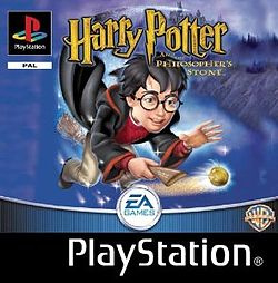 Harry Potter and the Philosopher`s Stone (PS1 tweedehands Game)