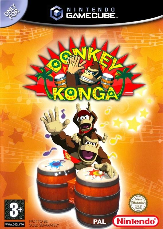 Donkey Konga (software only) (Nintendo Gamecube tweedehands)