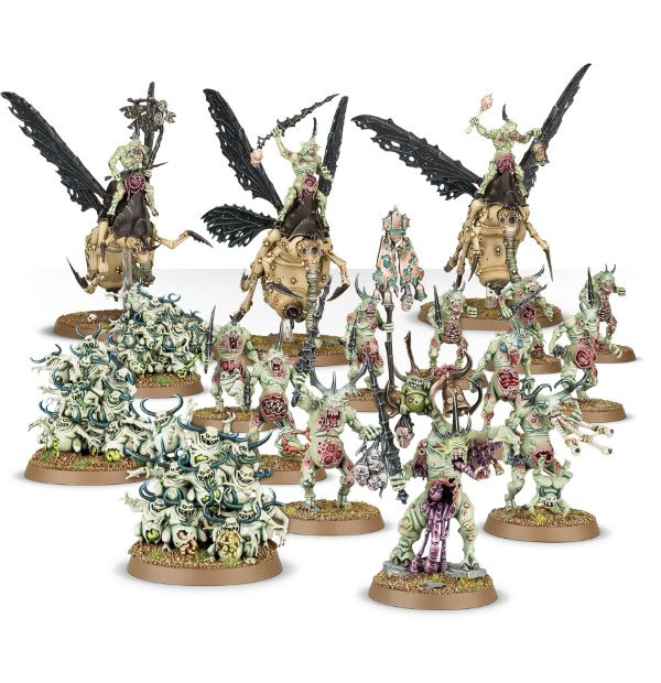 Start Collecting Daemons of Nurgle (Warhammer Age of Sigmar nieuw)