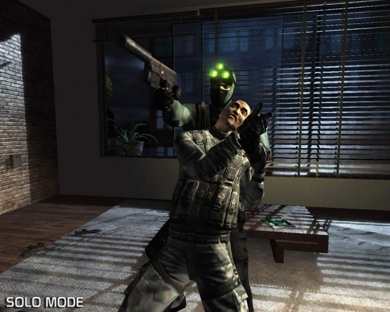 Tom Clancy's Splinter Cell platinum (ps2 used game)