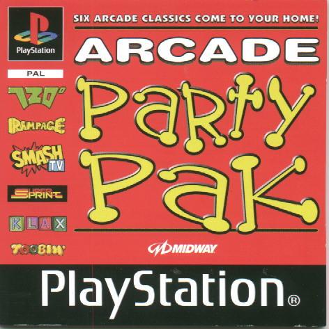 Arcade Party Pak  (ps1 tweedehands game)