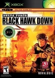 Delta Force Black Hawk Down (XBOX used game)