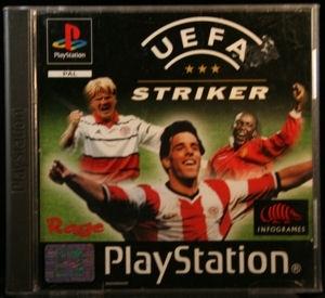 UEFA Striker (PS1 tweedehands game)