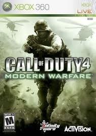 Call of Duty 4 Modern Warfare (Xbox 360 used game)