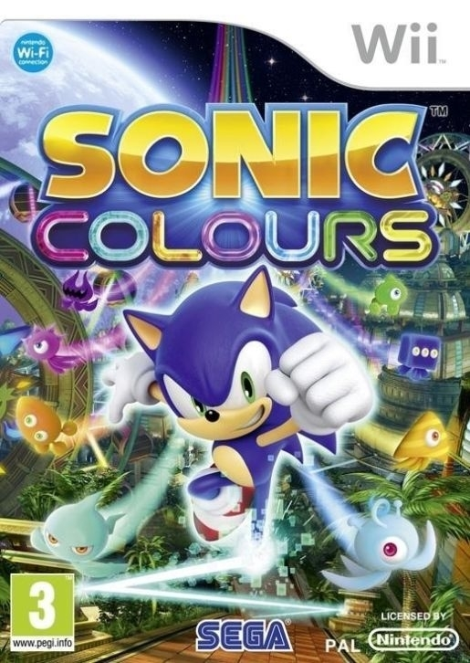 Sonic Colours (wii used game)