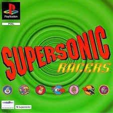 Supersonic Racers (ps1 tweedehands game)