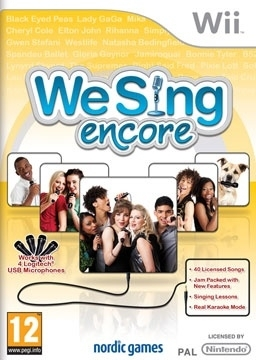 We sing encore (wii used game)