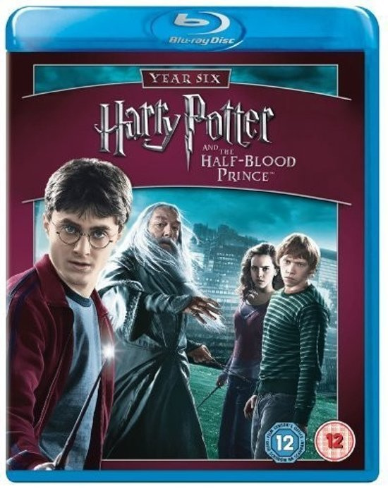 Harry Potter and the Half-Blood Prince Blu-ray + DVD (Blu-ray nieuw)