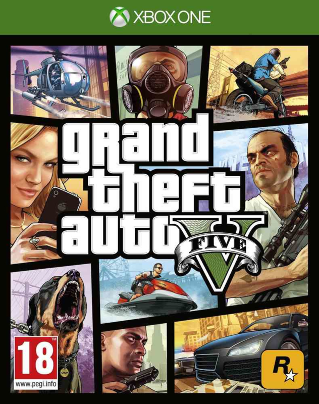 Grand Theft Auto V GTA 5 (Xbox One nieuw)