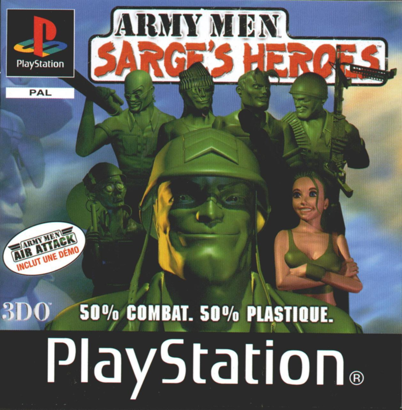 Army Men Sarges Heroes (ps1 used game)