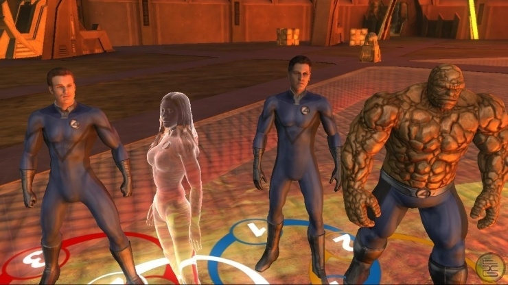 Fantastic Four Rise of the Silver Surfer (Nintendo Wii nieuw)