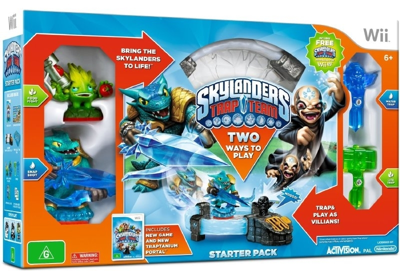 Skylander Trap Team Starterpack in doos  (wii tweede hands game)