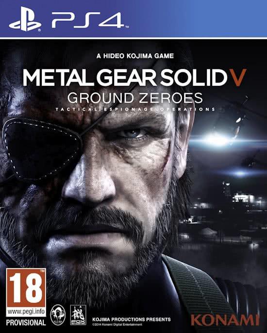 Metal Gear Solid V Ground Zeroes  (PS4 nieuw)